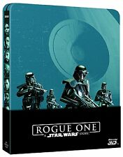 Rogue One: A Star Wars Story STEELBOOK -Blu-ray 3D + Blu-ray(3 DISC) Region Free