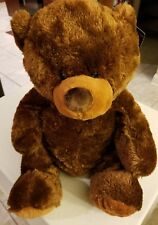 "2009 Toys R Us Teddy Bear Plush Stuffed Animal  Brown Large Floppy Big 20"" NWT"