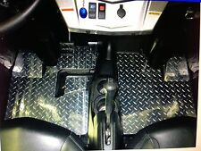 2008+ Polaris RZR / RZR-S Diamond Plate Floor Mats