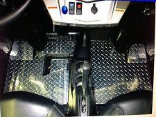2008+ Polaris RZR / RZR-S Diamond Plate Floor Mats