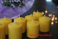 Stumpen Kerze 100 % Bienenwachs  80 mm x 64 mm
