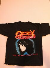 Vintage 90s 1992 Ozzy Osbourne No More Tours Tour Concert Shirt Mens Large