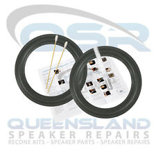 "6.5"" Foam Surround Repair Kit to suit Advent Speakers PS6 HT304 (FS 141-120)"