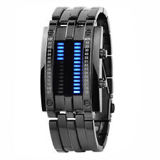 Men's  Binary Watches Luminous Sport Date Digital LED Couples Wrist Watch
