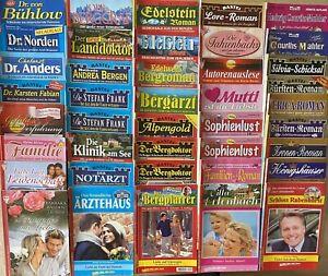 100 Arztromane, Bergromane, Heimatromane, Fürstenromane, Liebesromane