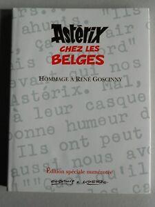 TL Tirage limité Astérix chez les Belges ( UDERZO ) Hommage à René Goscinny 2002