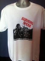 BURNING SPEAR T-SHIRT MARCUS GARVEY Roots Reggae Rasta Dub Bob Marley Lee Perry