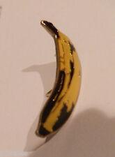 VELVET UNDERGROUND LOU REED RARE NOS BANANA PIN BADGE AS DESIGNED BY WARHOL