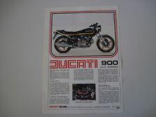 advertising Pubblicità 1978 MOTO DUCATI 900 SD SPORT DARMAH