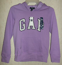 NWT GIRLS Gap Kids PRETTY JASMINE / LIGHT PURPLE HOODIE  SIZE L (10-11 Years)