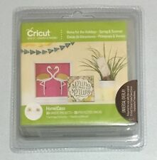 Cricut Cartridge - HOME FOR THE HOLIDAYS SPRING & SUMMER - Brand New - Sealed