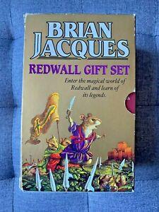 Brian Jacques REDWALL GIFT SET 3 RARE Book Box Set.
