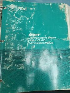 AT&T Spirit communications System Manuals