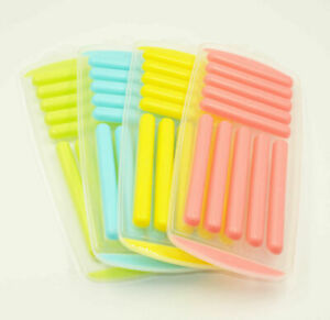 1 X Ice Stick For Water Bottle Tray Easy Pop Plastic Silicone Top Mould Cube