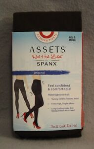 Assets Red Hot Label by Spanx Shaping Tights Size 5 E 5E #1837 Brown NEW