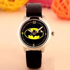 Boy Kids Children Batman Super hero Wrist band Watch Easter Christmas Gift him