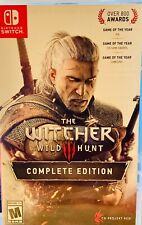 The Witcher 3: Wild Hunt Complete Edition - Nintendo Switch Complete Tested!!