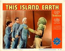 This Island Earth 1955 card #2  Lobby Card Best card in set  VF  2 pinholes in