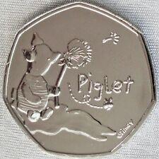 **NEW**GREAT BRITAIN / UK _50p Pence 2020_Piglet / Ferkelchen_3/9_BUnc_lose