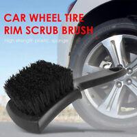 Car Wheel Tire Rim Scrub Brush Auto Detailing Brush Tyre Washing Cleaning Tool