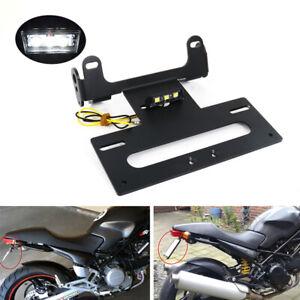 License Plate Holder Adjust Tail Light For Suzuki GSX-R1000 2001-2019