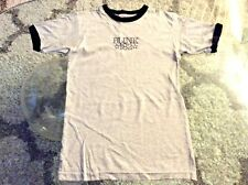 Blink 182 Gray Ringer Shirt Ladies Girls Small