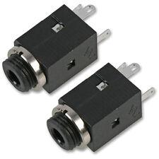 3.5 mm Mini Jack da pannello Chassis Mount Stereo cuffie Socket BLOCCO CONNETTORE x 2