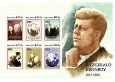MODERN GEMS - Maldives - John F. Kennedy - Sheet Of 6 - MNH