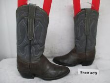 Cowtown Lizard Skin Leather Cowboy Boots Size 6.5 D Style 846