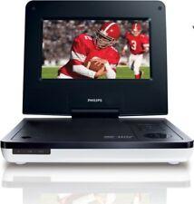 "Philips PET729/37 White Widescreen 7"" Portable TV Stereo DVD Player NO ANTENNA"