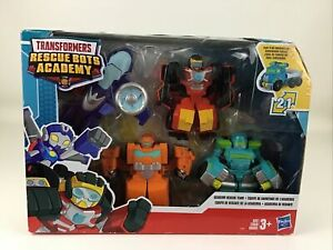 Transformers Rescue Bots Academy Rescue Team Playset Figures Playskool Heroes