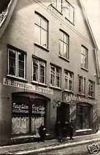 13583/ Originalfoto 9x13cm, Frisier Salon Fritz Berendsen+Tante Emma Laden
