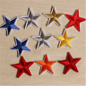 10PCS Star Embroidery Sew Iron On Patch Badge Clothes Applique Bag Fabric Lot