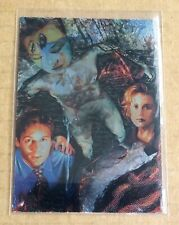TOPPS THE X-FILES SEASON TWO TRADING CARDS;  i1 ETCHED FOIL CHASE CARD