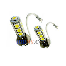 A Pair H3 13-SMD 5050 LED SMD Fog Lights DRL Driving Lamp Xenon White 12V