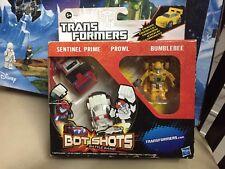 Hasbro Transformers Bot Shots Botshots Sentinel Prime Prowl Bumblebee MISB