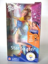 Barbie Star Skater Olympic Action Figure Spins