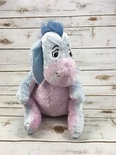 "Eeyore Collectible Winnie The Pooh Spring Pastel Plush Blue Stuffed 10"" EUC"