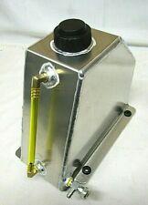 3 Qt Aluminum Sprint Fuel Tank Cell Go Kart Snowmobile Flat Mount Racing Parts