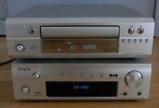 Denon mini Musikanlage DRA-F102  DCD-F-101 FB Tolle Geräte vollfunktionsfähig