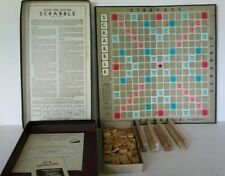 Vintage 1948 SCRABBLE Board Game Selchow Righter COMPLETE Classic Word Game