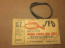 NOS Antique JFD Fabric Radio Dial Belt Number 87 GUARANTEED for Admiral #2