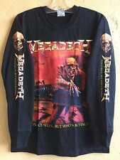 Megadeth long sleeve S shirt Thrash metal Artillery Metallica Exodus Testament