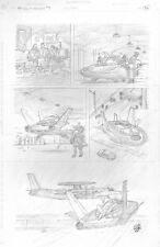 Skull & Bones #3 p.26 - Cool Aircraft - Signed art by Curt Swan