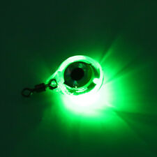 Underwater Fish Attraction Lamp Lure Green LED Flashing Fish Light Squid=Bait SY