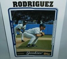"2005 (YANKEES) Topps  Alex Rodriguez  8"" x 10"""
