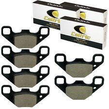 FRONT and REAR BRAKE PADS FIT Polaris RZR 170 2009 2010 2011 2012 2013 2014-2016