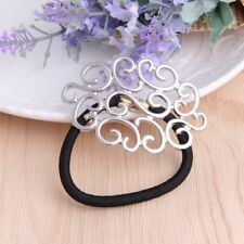 Hairband Tie Fashion Ring Pearl Ponytail Elastic Holder Band Hair Accessories