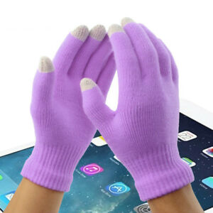 Soft Winter Men Women Touch Screen Gloves Texting Capacitive Smartphone