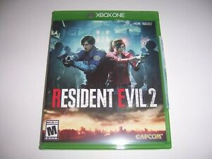 Original Box Case Replacement Microsoft Xbox One XB1 Resident Evil 2 Two
